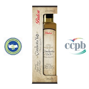 Balen Organik Çörekotu Yağı 250 ml (Cold Press Nigella Seed Oil)