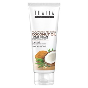 Thalia Natural Beauty Coconut Oil Besleyici ve Onarıcı El Kremi 75 ml